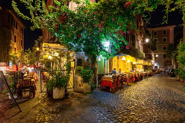 Quarter of Trastevere Rome